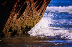 If this rusted steel could talk.. (Michael Swaja Photography) Tags: peter iredale shipwreck warrenton oregon ft stevens state park nikon d5100