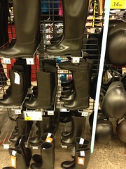 Riding boots galore (Hunter Wellies!!) Tags: