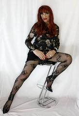 Black skirt (Julia Sweet) Tags: cd cross crossdresser stockings panty pantyhose boy girl 2 woman tv travesti transvestite transgender transformation trans tranny trannie tgirl tg sissy shemale sexy playgirl nylon maletofemale makeup little ladyboy gurl girlyboy girly femme feminization femminisation