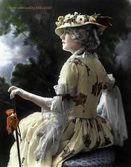 Ziegfeld and Movie Star Marion Davies Colorized (miko2660) Tags: mariondavies ziegfeld colorize photopainting ipadpainting actress digitalpainting