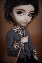 ~ ? ~ Taeyang FC (Loony-Doll) Tags: animal fur eyes doll stock makeup full planning corps jp wig groove custom mains occasion custo jun actionman poupe junplanning taeyang cavalie fullset customis azazelle