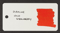 Diamine Wild Strawberry - Word Card