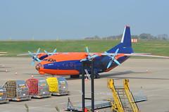 Antonov AN12 (tall_dude) Tags: airport nikon aircraft cargo hercules c130 antonov an12 rsaf cargoplane eastmidlandsairport nikond5100 hercatema