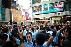 Umbrella Revolution #867 () Tags: road street leica ltm city people publicspace umbrella hongkong freedom democracy movement day path candid voigtlander 28mm protest rangefinder stranger demonstration revolution kowloon mongkok socialevent m9 l39 nofinder f19 m39 occupy offfinder umbrellarevolution voigtlander28mmf19 leicam9 occupycentral    umbreallarevolution