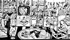 tte--tte (alicegreta) Tags: old sleeping portrait white black art cup panties illustration painting religious design tv bed shoes catholic graphic underwear room jesus bra clothes pillow mango comix zara telemundo chist illustrationg drawingcross