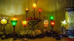 Lamps, Lamps, Lamps (dietmar-schwanitz) Tags: light colour licht lamps colourful farbe bunt lightroom lampen scheunenviertel kremmen dietmarschwanitz geschenkescheunenikond80