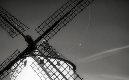 Molino manchego - Windmill (P1000578)