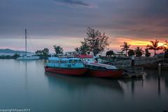 Last trip (casa nayafana) Tags: longexposure nature night landscape malaysia lanscape melaka nd400
