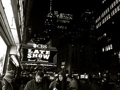 Late Show with David Letterman (emmaserline) Tags: nyc newyork davidletterman davidlettermanshow