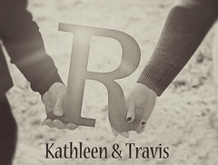 Kathleen & Travis 11 (Javcon117*) Tags: love sepia typography photography idea photo engagement haze holding hands couple soft shoot kathleen text together r letter travis session roberts engaged initial matte wilt javcon117 frostphotos