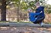 Violet & Everett On The Tire Swing (Joe Shlabotnik) Tags: playground violet tire swing tireswing everett faved 2015 afsdxvrzoomnikkor18105mmf3556ged april2015