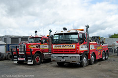 Rowe Motors White & Isuzu (Truck Exposure) Tags: coe towtruck wrecker cabover