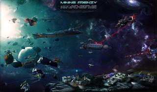 Mining Frenzy, a digital LEGO space collaboration