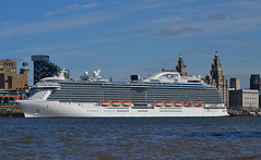 Royal Princess (Colo Askew...) Tags: liverpool waterfront mersey wallasey wirral merseyside liverpoolwaterfront
