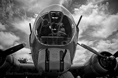 2015_05_31 Boeing B-17G Flying Fortress  Buchanan FieldBW (Walt Barnes) Tags: blackandwhite bw canon eos blackwhite aviation military monotone calif mitchell concord bomber vignette topaz b25 collingsfoundation tondelayo heavybomber northamericanb25mitchell 60d buchananairfield canoneos60d eos60d topazbweffects topazblackwhiteeffects wdbones