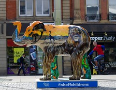 Herd of Sheffield elephant sculptures (11) (Simon Dell Photography) Tags: herdofsheffield herdof sheffield herd eliphants statues town city sculptures colorfull awsome 2016 trail see find them locations