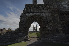 Saint Andrews (Echoes89) Tags: saint andrews cathedral old church abandoned cemetery graveyard scotland fife death dead