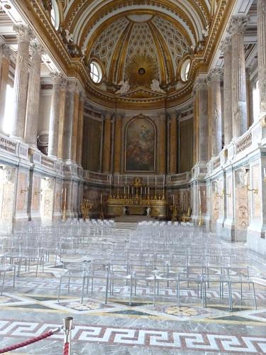 Reggia Caserta - Bourbon royal palace, chapel