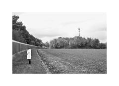 Solum (One-Basic-Of-Art) Tags: einsamkeit alleinsein allein einsam alone kunstpelz kalt 1basicofart fotorahmen blackandwhite schwarzundweis noir blanc poeple nature natur canon canonixus canonixus500hs