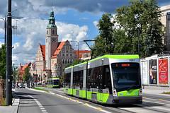 Solaris Tramino S111o #3001 MPK Olsztyn (3x105Na) Tags: tram poland polska polen solaris strassenbahn olsztyn mpk tramwaj 3001 mpkolsztyn tramino s111o