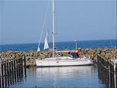 Kieler Frde - Schilksee (Jorbasa) Tags: jorbasa hessen wetterau germany deutschland geotag schilksee kiel olympia hafen kielerfrde olympiahafenschilksee frde fjord wasser water boat boot balticsee see segelboot sailingboat