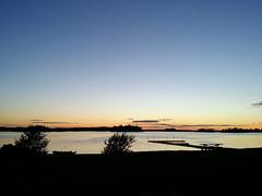 Sonnenuntergang Di (Mybini) Tags: juni sonnenuntergang schweden kanu 2016