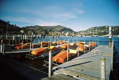 Una passeggiata in riva al lago (sirio174 (anche su Lomography)) Tags: lago lake como lagodicomo comolake superheadz whiteslimangel toycamera 20mm wideangle