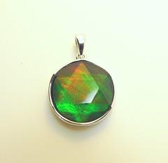 NEW ARRIVAL (The Ammolite) Tags:  ammolite ammonite pendant jewelry jewellery minerals mineral gemstone stone