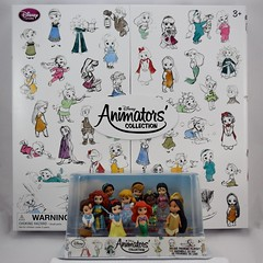 Disney Animators' Collection Deluxe Figure Playset Versus 15-Piece Mini Doll Set - Boxed - Full Front View (drj1828) Tags: us disneystore 2016 disneyanimatorscollection minifigure playset disney princess purchase deboxed minidoll disneyland
