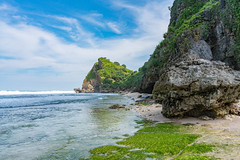 Ngobaran Beach, Central Java, Indonesia (petersaputra) Tags: beach indonesia java central gunung jawa pantai gunungkidul tengah kidul ngobaran