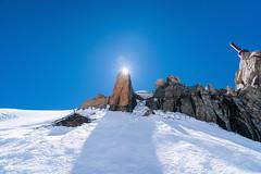 Sun beam (ywpark) Tags: sun france sony chamonix montblanc aiguilledumidi carlzeiss a6300 variotessarte41670