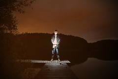 Nachts am See (giulialanghi) Tags: lake sunset see sonneuntergang fischer