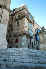 Archbishop Street, Valletta (Michael N Hayes) Tags: malta valletta mediterranean europe archbishopstreet summer fujifilmxpro1 sea culture city