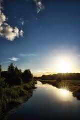 The reflecting light (Jim Skovrider) Tags: sunset sky nature nikon d750 fullframe tamron randers guden colorefexpro randersfjord niksoftware adobephotoshoplightroom nikonfx nrre theriverguden sp2470mmf28divcusd nikonfxshowcase nikond750