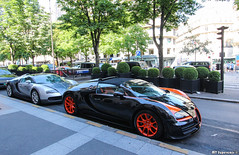 Loud Combo (MT Supercars) Tags: summer paris sport convertible grand wrc bugatti loud supercar supercars combo veyron vitesse grandsport hypercar hypercars worldrecordedition mtsupercars