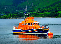 Ireland Redbay a sea rescue lifeboat called the Henry Heys Duckworth 3 July 2016 by Anne MacKay (Anne MacKay images of interest & wonder) Tags: ireland redbay rescue lifeboat henry heys duckworth xs1 3 july 2016 picture by anne mackay