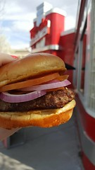 Dollywood Red's Drive-In {March 2016} (thenewclassy) Tags: redsdrivein drivein reds dollywood pigeonforge tennessee greatsmokymountains jukeboxjunction hamburger burger cheeseburger fries frenchfries chevy chevrolet travel travelblog travelbloggers