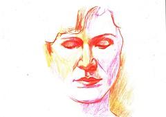 BELLEZA SIN LIMITE (GARGABLE) Tags: ojos belleza gargable angelbeltrn apuntes sketch dibujos drawings retrato portrait gente