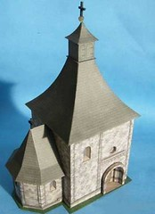 St. Nicholas Church Free Building Paper Model Download (PapercraftSquare) Tags: buildingpapermodel church stnicholas