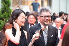Godzilla Resurgence World Premiere Red Carpet: Ichikawa Mikako & Anno Hideaki