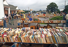IMG_3082-01 (SJH Foto) Tags: readers wait for official opening lancaster mennonite historical society booksale while some premium payers browse they were privileged enter early