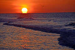 Sunriise at Beach DSC_0873_edited-1 (John Dreyer) Tags: sunrise beach beachsunrise hiltonheadisland nikon nikond5100 photocreditjohnjdreyer copyright2016johnjdreyer
