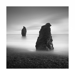 Talkin Headz (Rohan Reilly Photography) Tags: copper coast waterford ireland minimal sea stacks