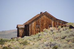 After The Gold Played Out (nedlugr) Tags: california ca bodie ghosttown ruraldecay ruralwest rustic oncewashome smoke usa sagebrush hills smokyskies