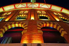 Barcelona by night. Arenas de Barcelona (Andrey Sulitskiy) Tags: spain barcelona