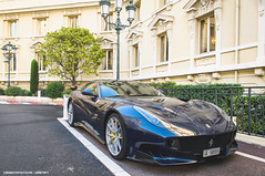 F12 TDF (Gaetan | www.carbonphoto.fr) Tags: ferrari f12 tdf supercar hypercar car coche auto automotive fast speed exotic luxury great incredible worldcars carbonphoto monaco monte carlo