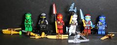 MU3A8619 (lbaswjk3ja) Tags: jay kai cole knockoff fake bricks building toy figure mini nya lloyd nrg ninja