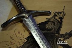 The Witch-King of Angmar artwork (mechkivskiy_art) Tags: jrrt tolkien nazhul angmar witchking lordoftherings lotr sword weathertop