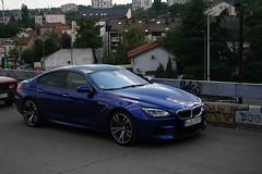 BMW M6 F06 Gran Coup (Vuk Vranic) Tags: bmw m6 f06 gran coup car cars supercars supercar luxury exotic blue bluecars bluem6 bluesupercars rare rarecolor color race perfermance edition canon eos 350d digital vuk vranic fran restoranfras belgrade serbia beograd srbija 2016