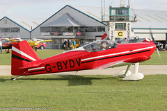 G-BYDV - 1999 build Vans RV-6, taxiing for departure at Sywell during the 2013 LAA Rally (egcc) Tags: 2013laarally andrews carpenter egbk gbydv laarally lightroom northampton orm pfa18113264 rv6 sywell vans